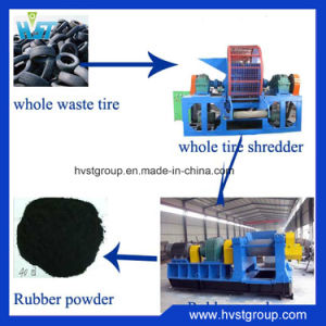 Making Rubber Granulesのための不用なTire Recycling Machine
