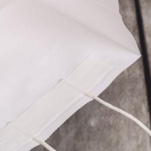 전문가는 포장을%s 서류상 쇼핑 백, 고품질 인쇄된 로고를 가진 도매에 의하여 입힌 호화스러운 서류상 선물 쇼핑 백을 주문을 받아서 만들었다