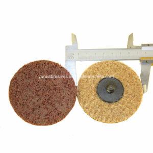 2 Disco de lixa Roloc flexível de Mudança Rápida