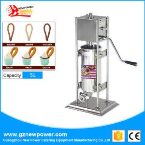 5L de aço inoxidável Churros Maker Churros máquina de enchimento para equipamento de restauração
