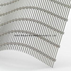 Тканый кабель веревки проволочной сетки для Facada/комната делитель