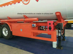 45000 L de combustível /Petroleiro de alta qualidade do reboque a transferência de Gasolina/Diesel semi reboque