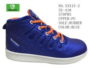 35-41 blanc et bleu n° Middle Cut Lady Chaussures Chaussures de skateboard