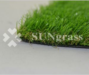kunstmatige Gras van het Landschap van de Tuin van het Gras van 25mm het Kunstmatige (sunq-HY00063)