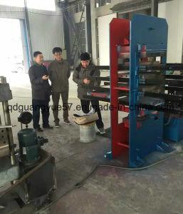 Azulejos do piso de borracha de alta pressão máquina de vulcanização Hidráulico Daylight Pressione