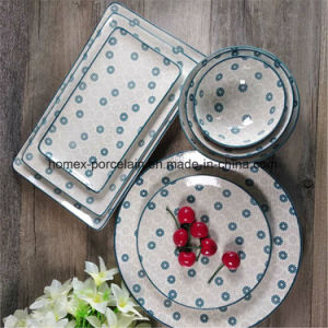 Nouveau design populaire personnalisé de qualité supérieure de la vaisselle en porcelaine Set
