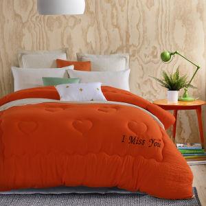 Alternativa de luxo Consolador Flanela Hotel Quality Hipoalergênico Edredão Inserir Consolador Definido