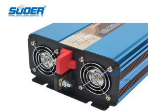 AC 순수한 사인 파동 태양 에너지 변환장치 (FPC-3000A)에 Suoer 3000W 12V DC