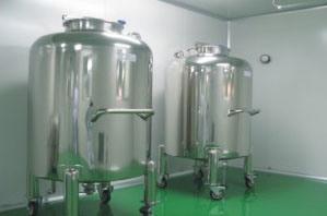 Temperature Insulationのステンレス製のSteel Sanitary Storage Tank
