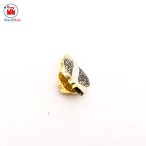カスタム亜鉛合金の鋳造の金属のコンパスの折りえりPin