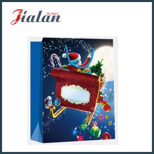 La veille de Noël shopping bon marché de gros transporteur sac de papier cadeau