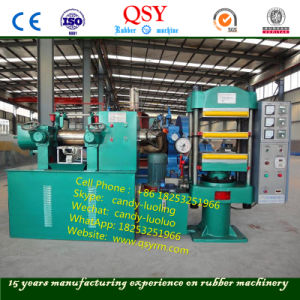 실험실 Rubber Machine, Laboratory Mixing Mill 및 Vulcanizer Press Machine