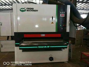 Zwei Köpfe R-RPbreite Riemen-Sandpapierschleifmaschine innerhalb der Bewegungsenergie