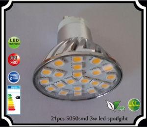 Epistar Chip 220-240V Wechselstrom 24PCS 3528SMD LED beleuchtet GU10