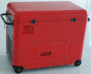 Elektrischer Strom-leiser beweglicher Dieselgenerator (5.5kw)