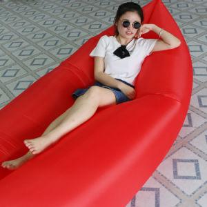 夏の熱い販売の膨脹可能な空気ソファー屋外浜のLounger