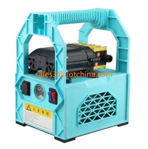 Ilot Prusssure doble portátil de alta carga de pulverización de agua Bomba de lavado de coche