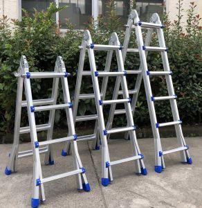 Un type Escalera multi-usage l'échelle pliable en aluminium en131