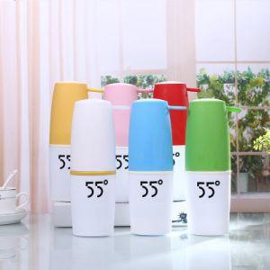 Nouveau 10oz Magic tasse vide Two-Color Mug Coupe du portable à l'extérieur en acier inoxydable 55 degré Tumbler