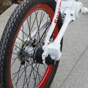 Happy Rider- 16/20 pouces vélo pliant avec l'arbre de plongée et dérailleur Shimano