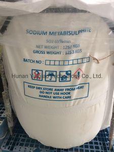 Fabricant industriel de qualité technique métabisulfite de sodium CAS 7681-57-4
