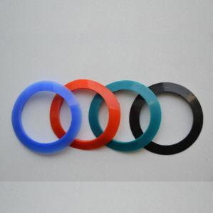 Nahrungsmittelgrad-kundenspezifischer Gummi farbige Silikon-Unterlegscheibe