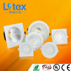 6W 12W 24W Pkw Aluminio COB de Iluminación LED(LX528/12W)