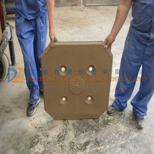 Hidráulico Automático Industrial Filtro de membrana de prensa para la deshidratación de lodos