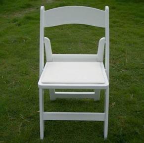 사건을%s 옥외 결혼식 수지 Whtie 접는 의자
