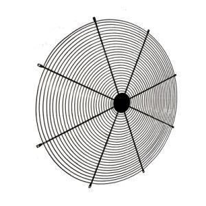 De pvc Met een laag bedekte Wachten van de Ventilator van de Wachten van de Ventilator van het Netwerk van de Draad Industriële