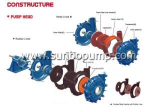 L'horizontale de lisier d'exploitation minière de la pompe haute pression/ pompe centrifuge de lisier