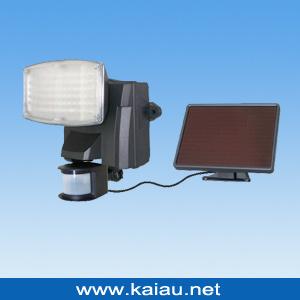 80PC La Energía Solar LED con sensor de movimiento