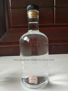 750ml 700mlのコルクストッパー終わりを用いる白く明確なワインの精神のガラスビン