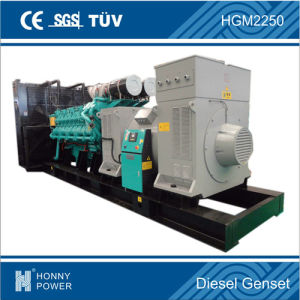 Gruppo elettrogeno grande diesel 1640kw/2000kVA di potere di Honny