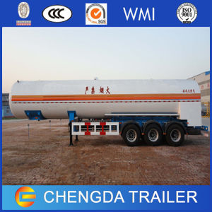 판매를 위한 트레일러 50 톤 3axle 알루미늄 합금 액화천연가스 탱크