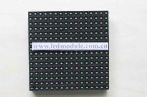 P10 impermeable al aire libre del módulo de pantalla LED de color único