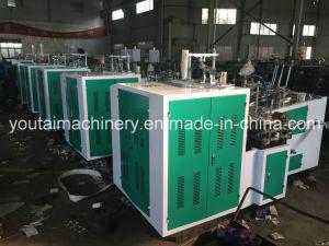 máquina de fabricación de vasos de papel desechables totalmente automático