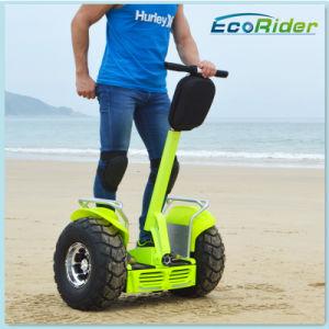 2016 горячая продажа Зеленый Электромобиль Мощный электродвигатель привода щеток вращающегося пылесборника 2000W двух колес постоянного Smart баланса города Hoverboard скутера дорожного движения
