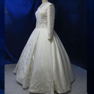 OEM/ODM nach Maß moslemisches Brauthochzeits-Kleid-Kleid