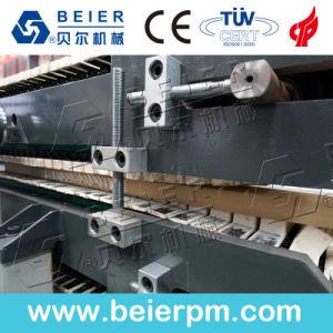 Extrusión de perfil de línea de maquinaria para madera suelos de marco de la puerta de plástico