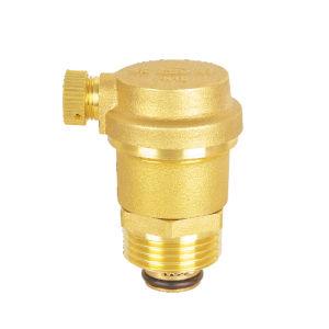 Латунный клапан выпуска воздуха, выпускной клапан, газовый клапан