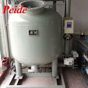 Aquakultur, die Wasserbehandlung-Sandfilter-Becken rezirkuliert