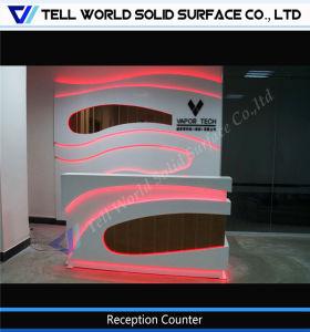 Расскажите мира специализированные клиники с подсветкой LED стойкой регистрации