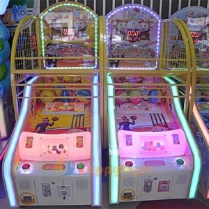 최신 판매 실내 운동장 미키 마우스 아이들의 농구 경기 기계