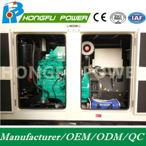364kw 455kVA motor Diesel Cummins Marca Hongfu Alternador com Painel Digital