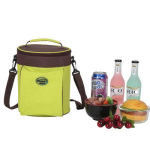 À la main de pique-nique sac du refroidisseur de garder les aliments frais un grand sac thermos thermique du refroidisseur d'alimentaire sac sacs Pack de glace Déjeuner 6L
