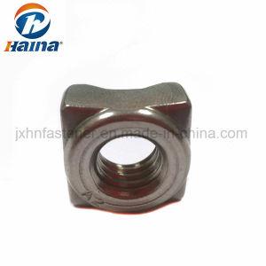 DIN928 un2-70 en acier inoxydable M8 Square écrous à souder