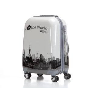 Hotsaleパターン荷物、ABS+PCのスーツケース(XHPA007)