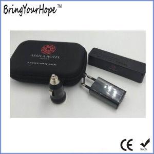 Kit de viaje alimentación establece el Banco de corriente incluido+cargador USB+cargador de coche (XH-PB-003T)
