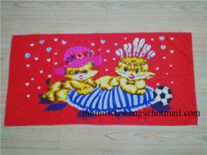 Popular Microfiber Printing Beach Towel Bath Towel for Promotional Use
